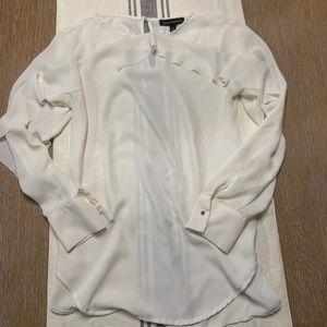 Banana Republic ruffle blouse